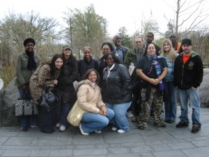 Class trip to American Indian Museum, Washington, D.C.
